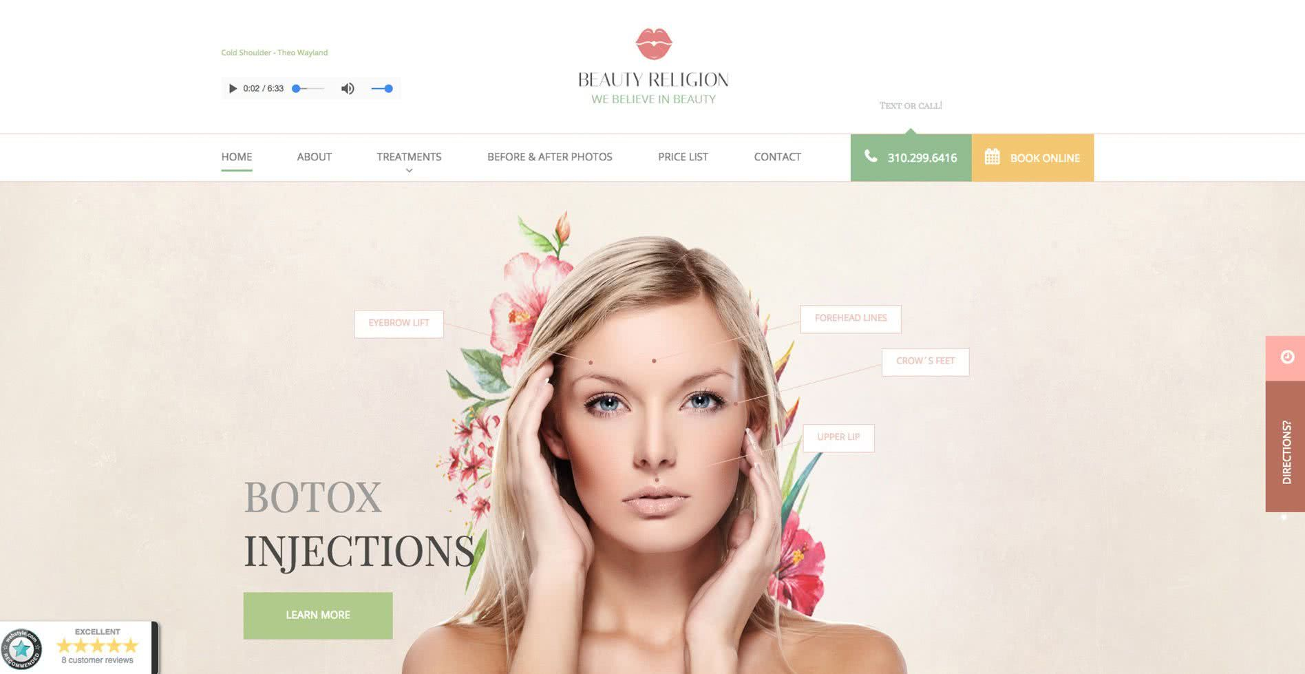 Beauty Religion Website