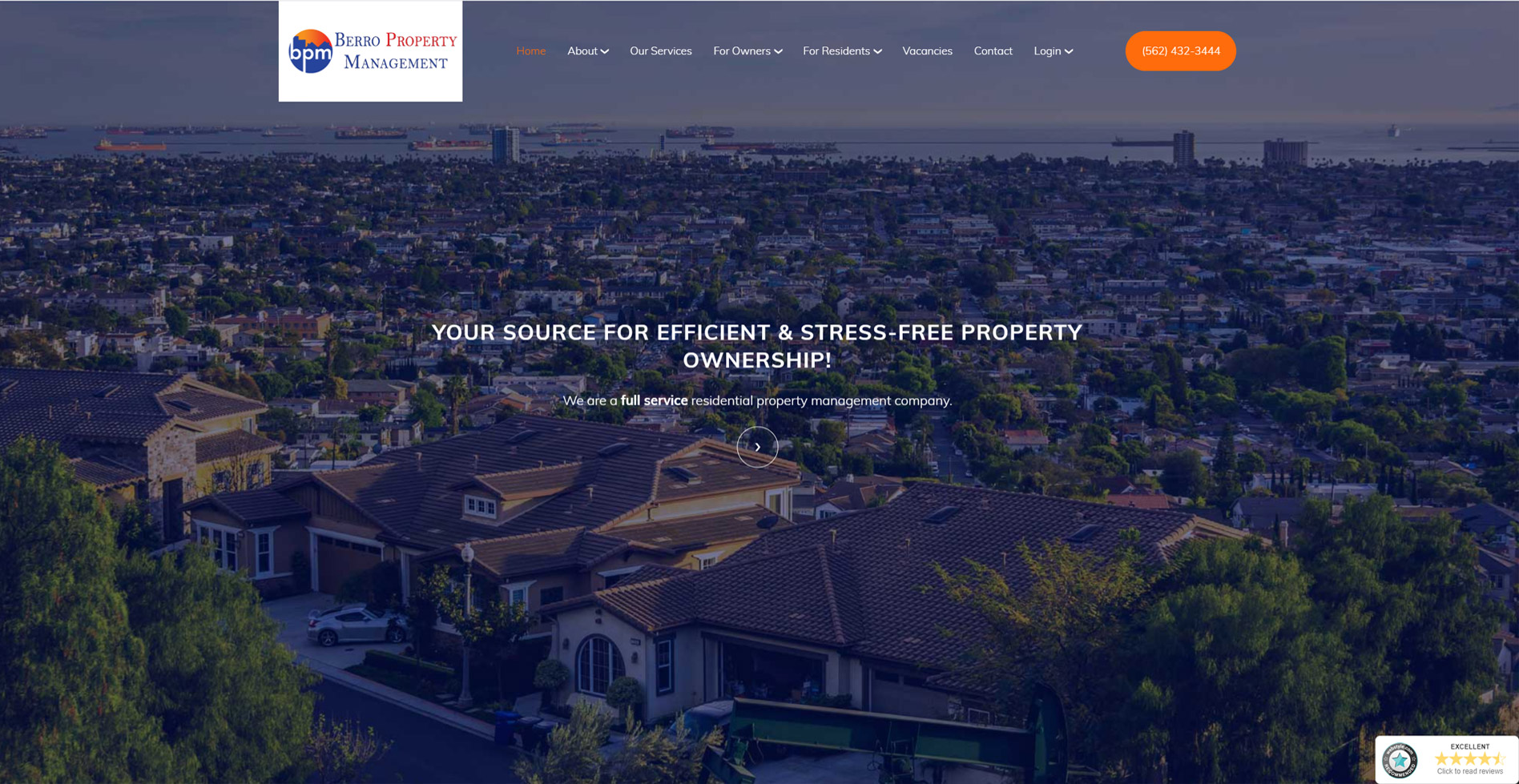 Berro Property Management Website