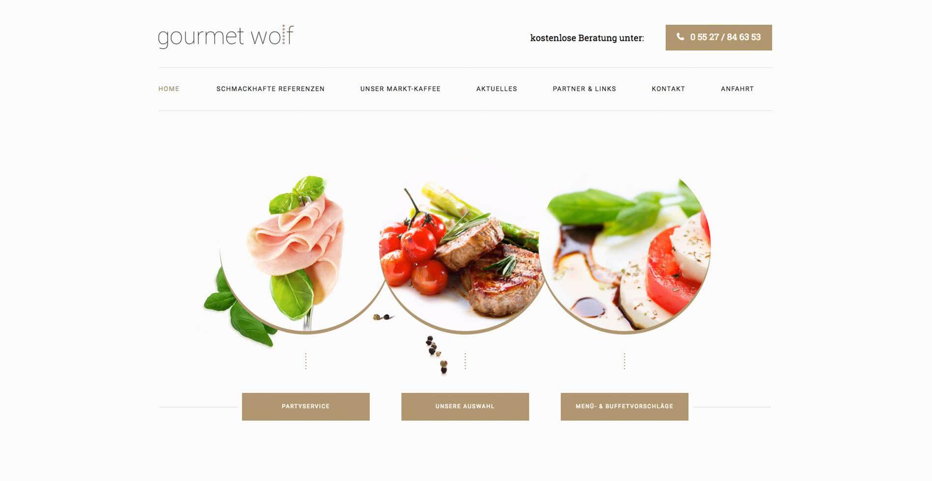 Gourmet Wolf