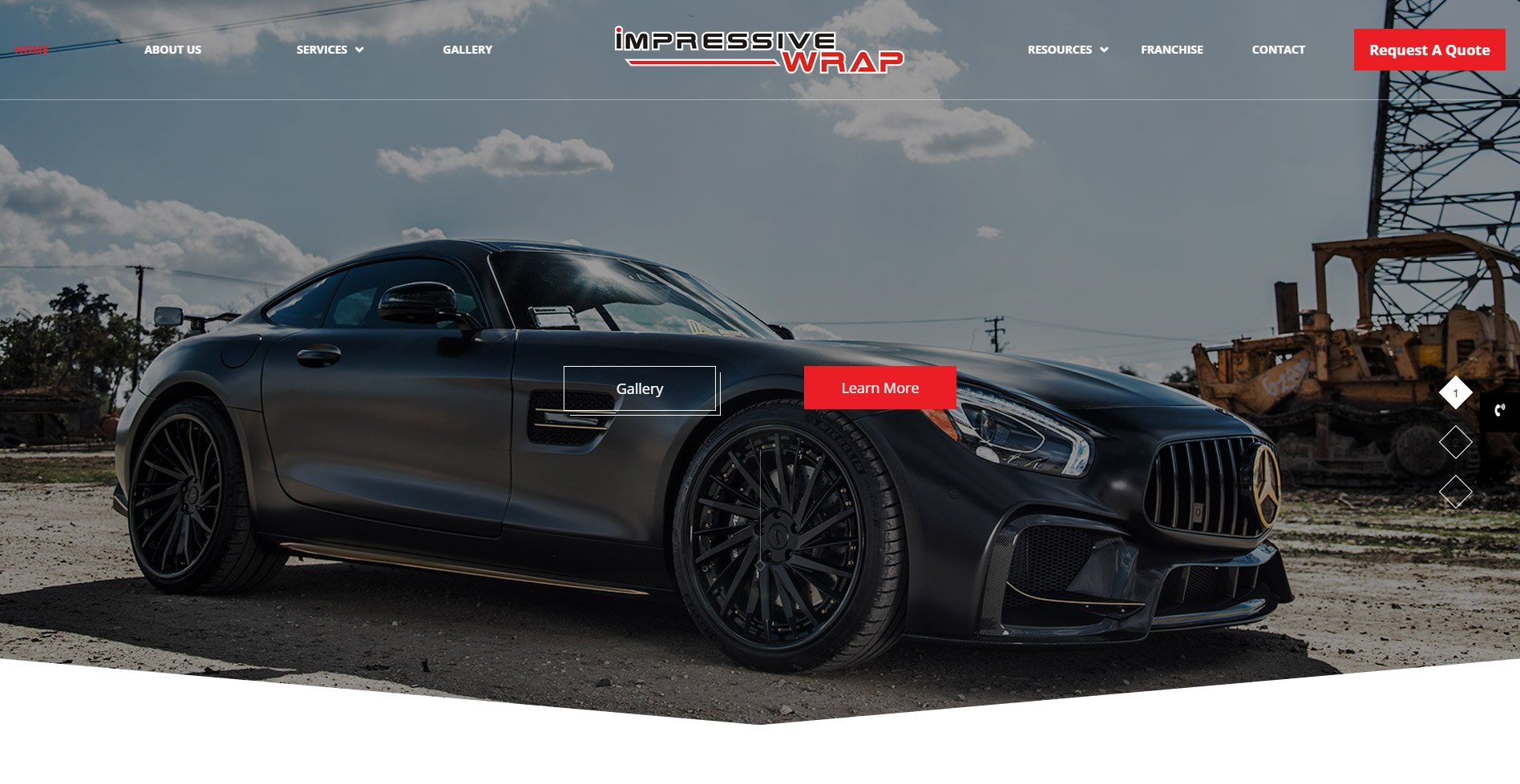 Impressive Wrap Website