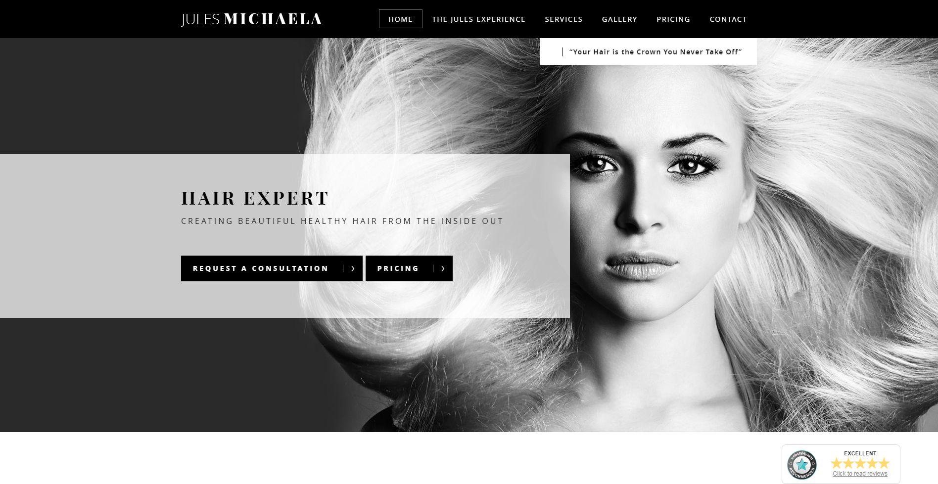 Jules Michaela Website