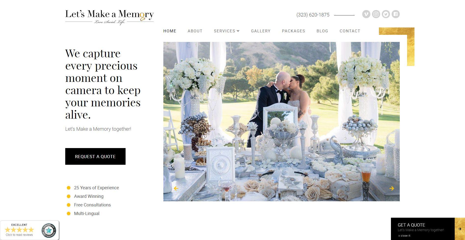 Let's Make a Memory Website