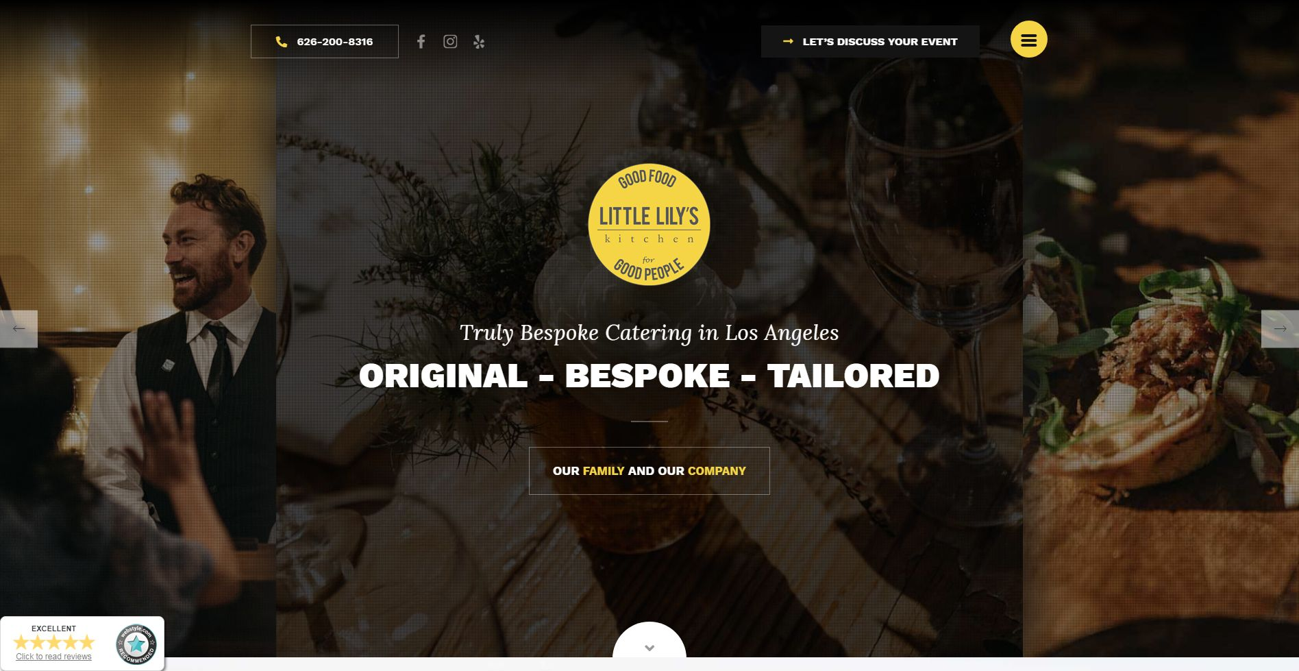 Little Lily´s Kitchen Website
