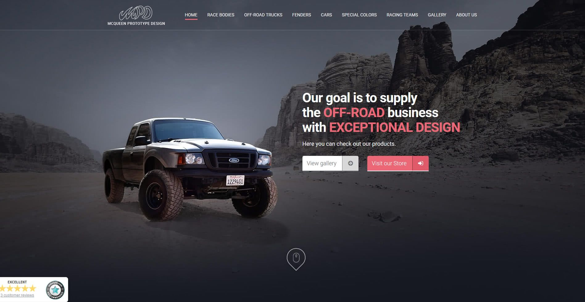 McQueen Website