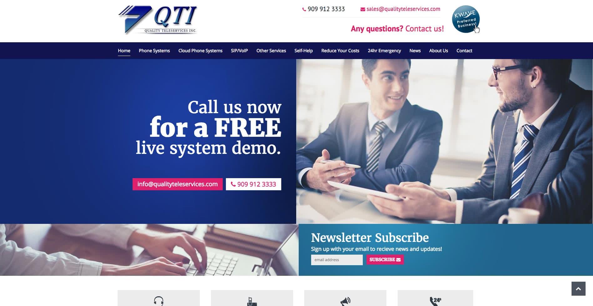 QTI - Quality Teleservice Inc.