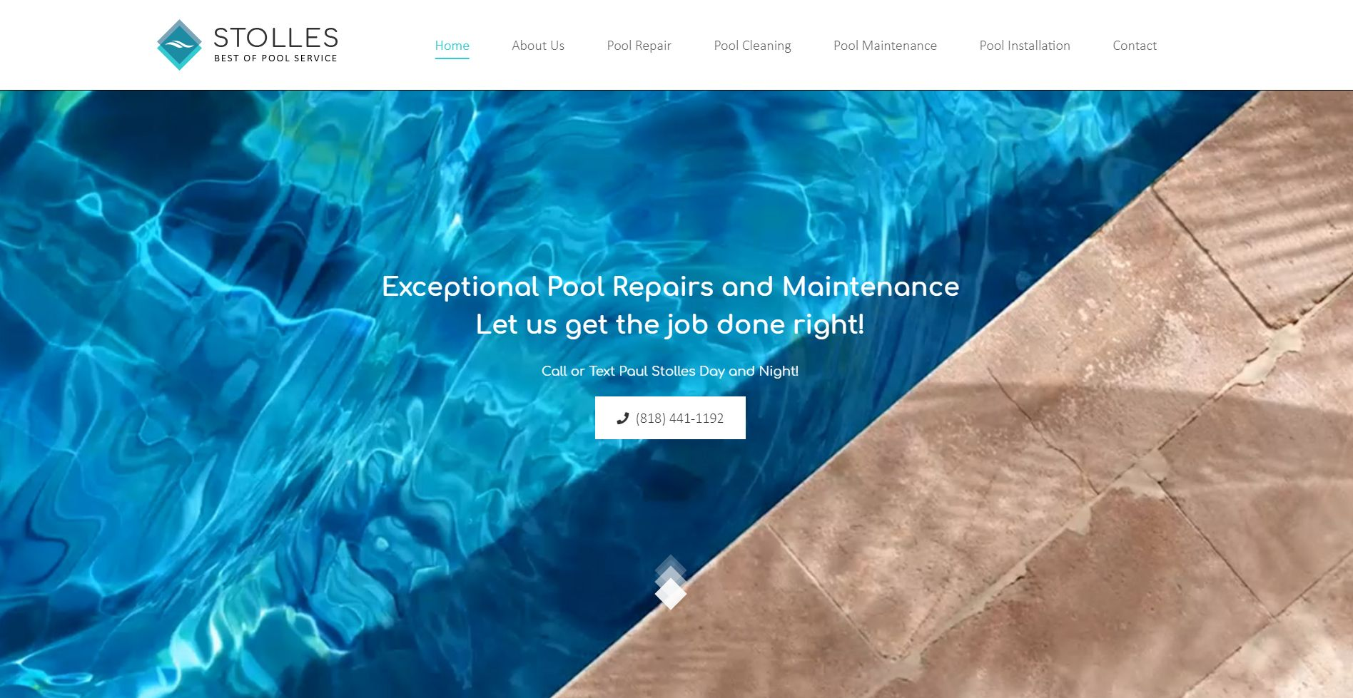 Stolles Best of Pool Service Website
